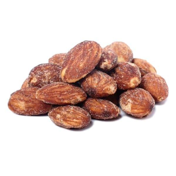 Roasted and Salted Almonds - L'Orenta Nuts