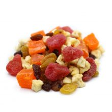 Fruity-goodness-perspective-www Lorentanuts Com Chocolate Trailmix